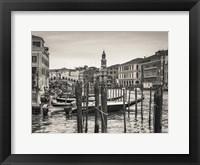 Framed Venice BW