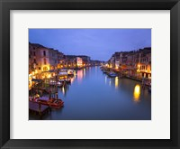 Framed Venice at Dusk