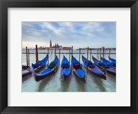Framed Blue Gondolas 4