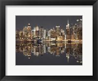 Framed Manhattan Reflections