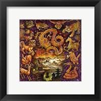 Framed Chinese Zodiac