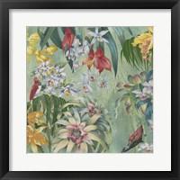 Framed Jungle Orchids