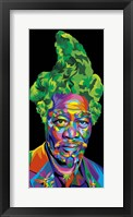 Framed Morgan Freeman