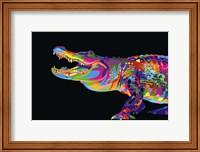 Framed Alligator
