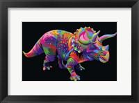 Framed Triceratops