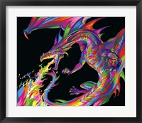 Framed Fantasy Dragon