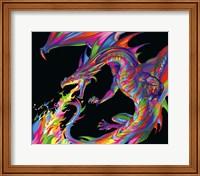 Framed Fantasy Dragon
