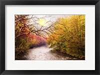 Framed Cherokee Autumn