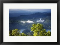Framed Morning In The Blue Ridge Mountains