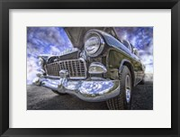 Framed 1955 Chevy BelAir