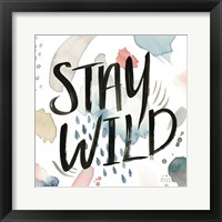 April Showers Inspiration I Framed Print