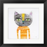 Framed Cool Cats I