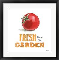 Framed Fresh From the Garden V No Border Sq