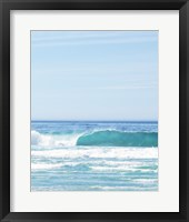 Framed One Perfect Wave