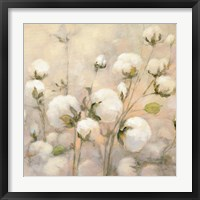 Framed Cotton Field Crop