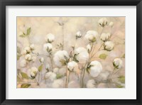 Framed Cotton Field