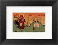 Framed Fried Chicken