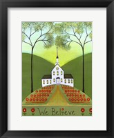 Framed We Believe Church