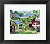 Framed Folk Art Golf Putt Putt Inn