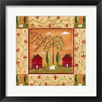 Framed Life Filled With Goodness 1