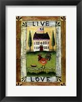Framed Live & Love
