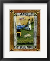 Framed Family & Friends