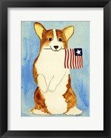Framed American Puppy