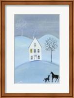 Framed Early Winter Frost