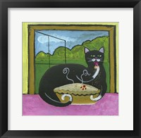Framed Kitty Likes Cherry Pie