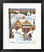 Framed Maple Sugar Barn
