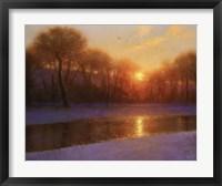 Framed Morning on the Missouri
