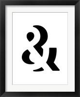 Framed Ampersand