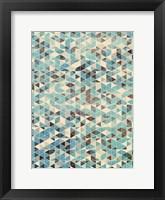Framed Grunge Geometry