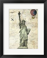 Framed Liberty Balloon