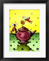 Framed Fairy Teapot