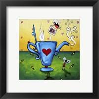 Framed Teatime Fairies