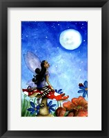 Framed Fairy On A Toadstool