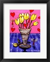 Framed Tulip Fairies