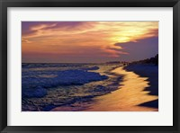 Framed Santa Rosa Sunset