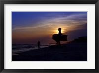 Framed Sunset Boogie Wide