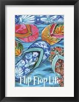 Framed Flip Flop Life