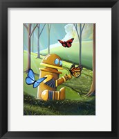 Framed Bot and the Butterflies