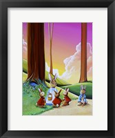Framed Peter Rabbit 1