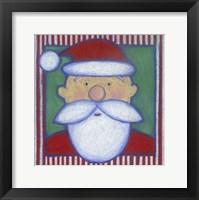 Framed Santa I