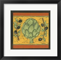 Framed Tuscan Artichoke