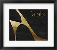 Framed Femme Fatale I