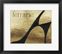 Framed Femme Fatale II