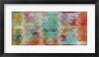 Framed Mosaico I