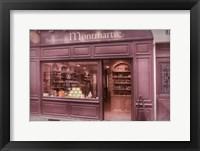 Framed Biscuiterie de Montmartre