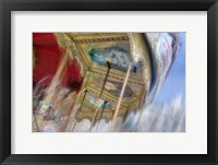 Framed Carousel de Montmartre I